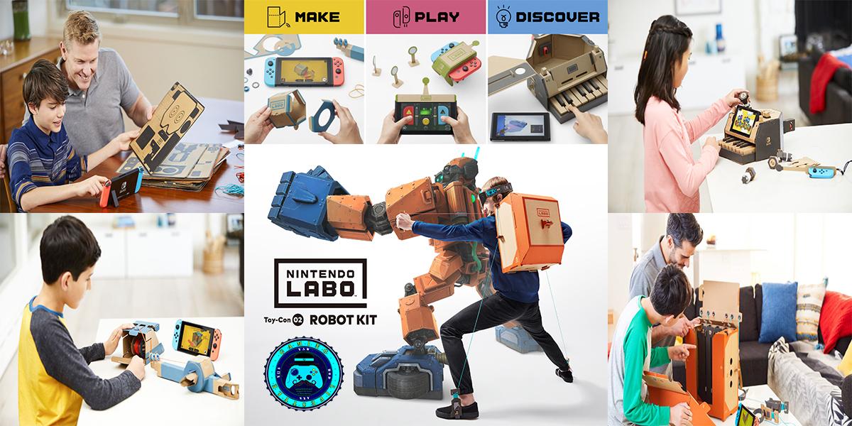 Nintendo Labo – la Rivoluzione Ludica per l'Infanzia secondo la Grande N