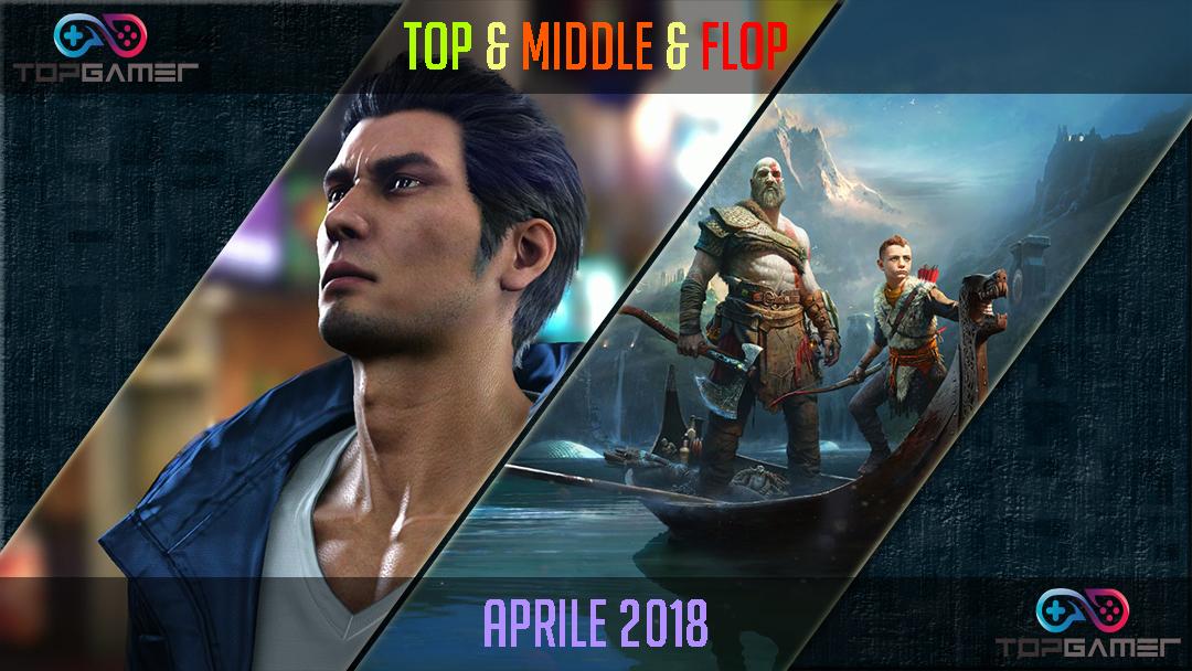 Classifica Videogames – Aprile 2018