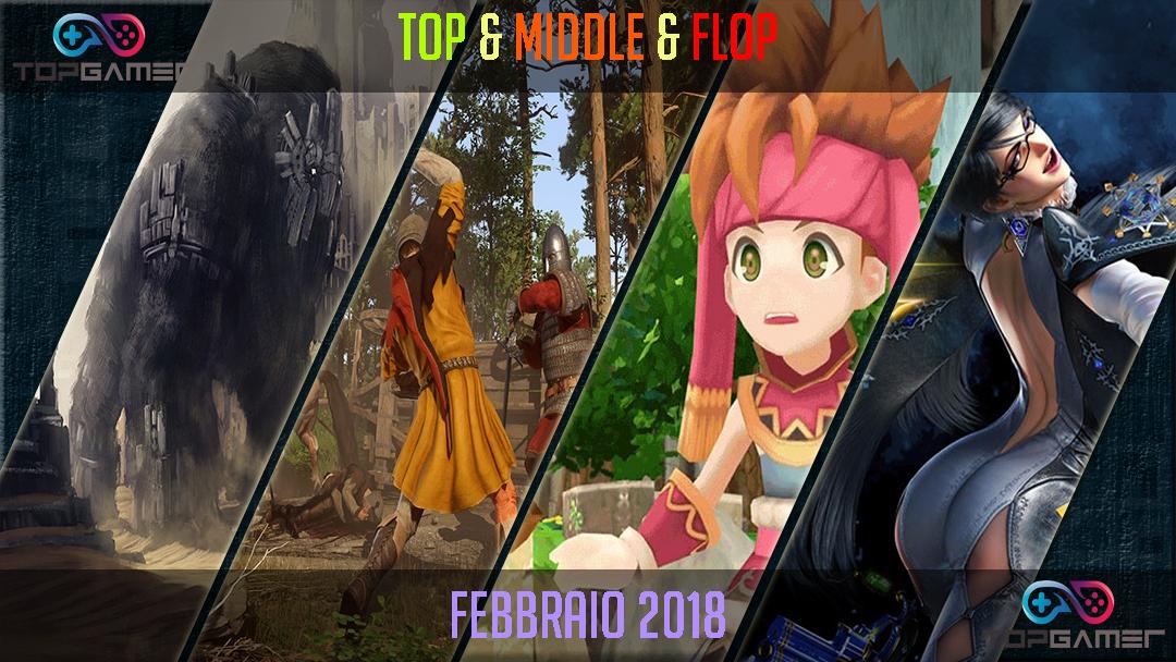 Classifica Videogames – Febbraio 2018