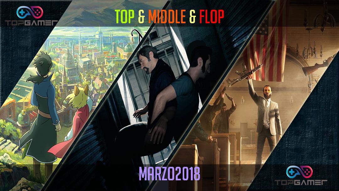 Classifica Videogames – Marzo 2018