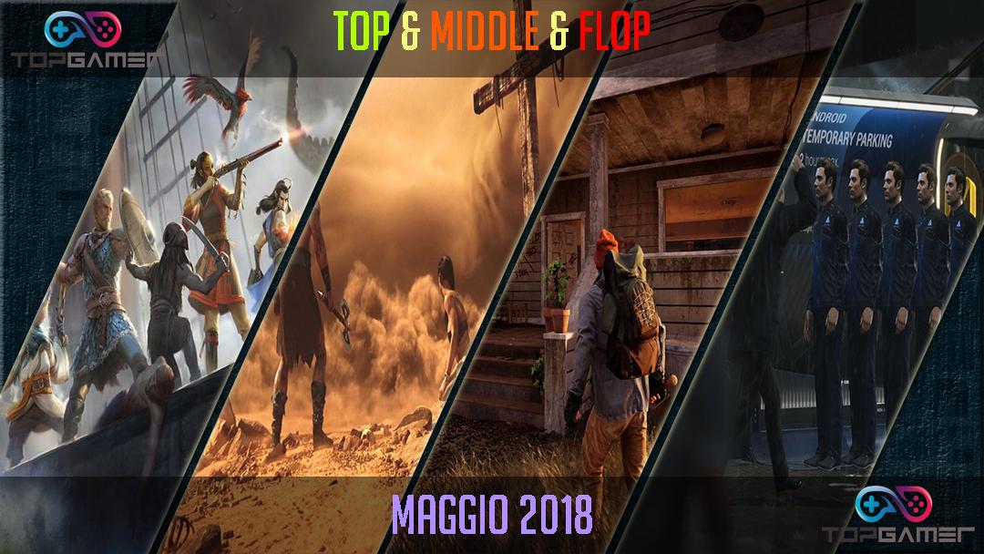 Classifica Videogames – Maggio 2018