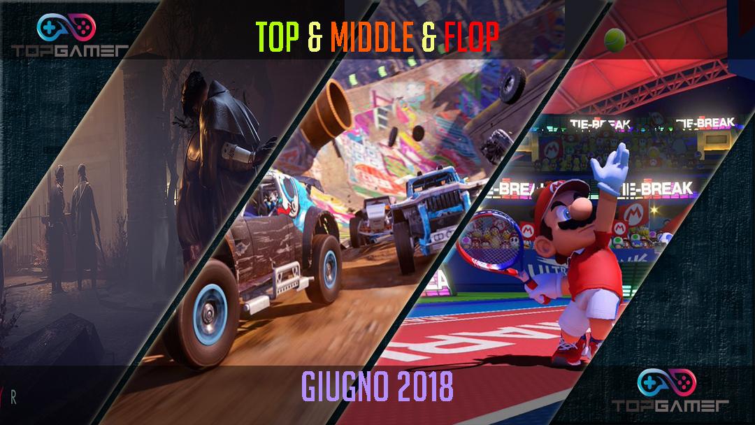 Classifica Videogames – Giugno 2018