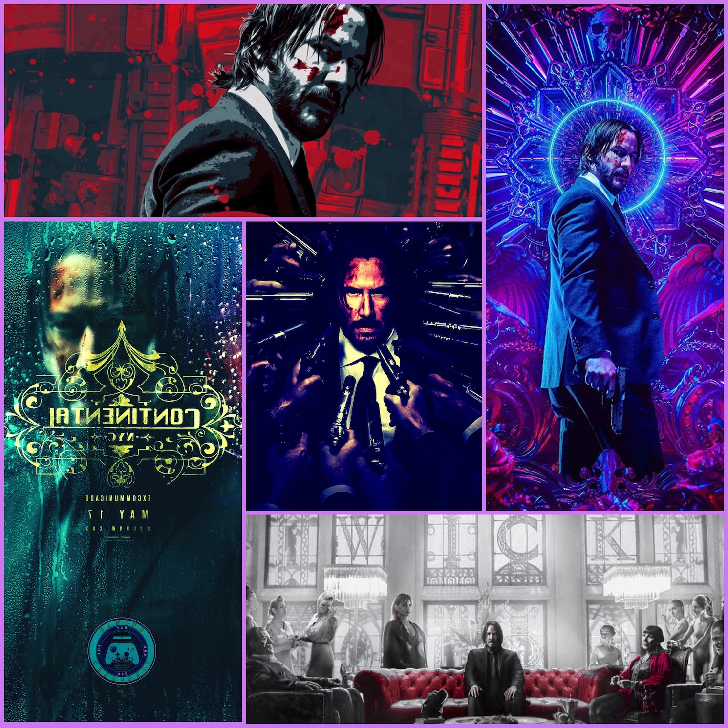 Insta Thoughts: Cinema/Gaming – John Wick
