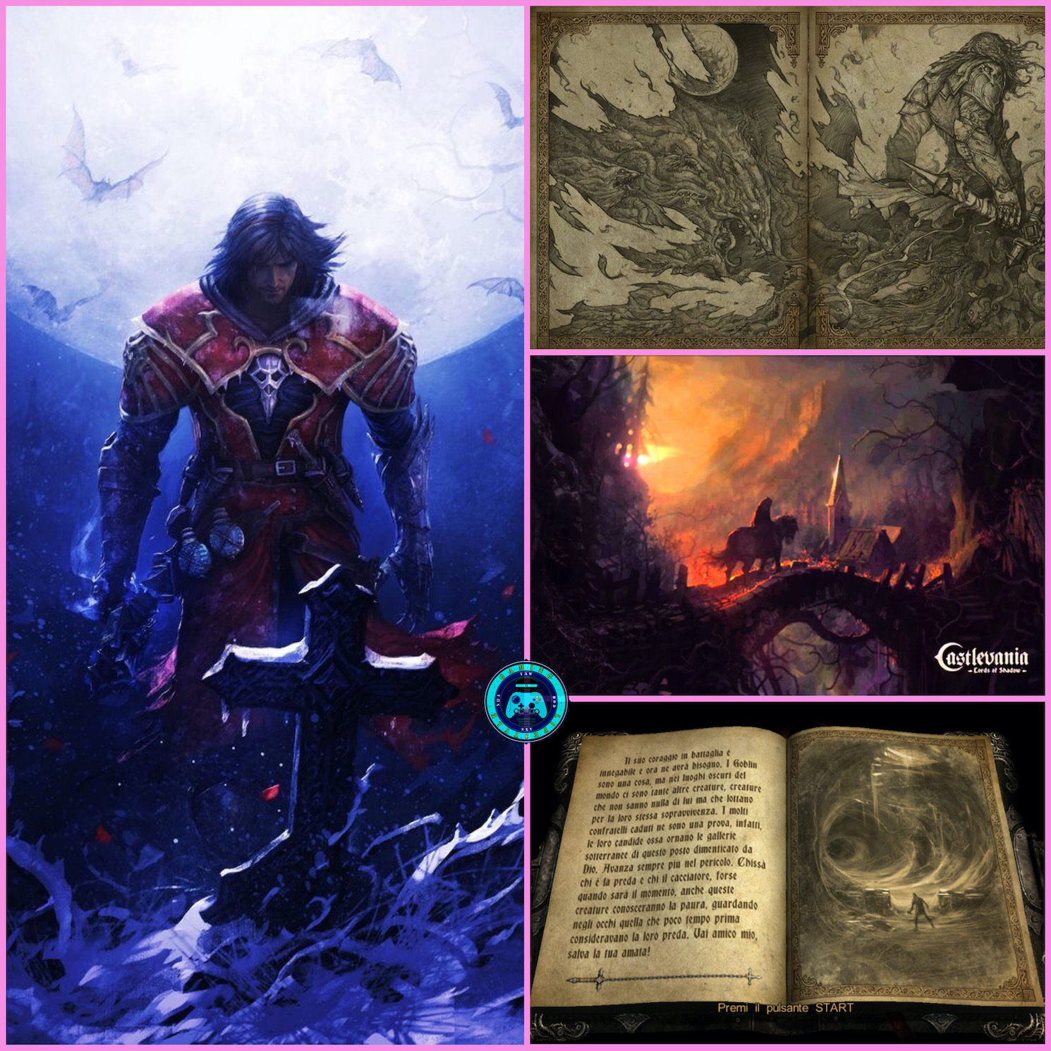 Insta Thoughts: Gaming – Castlevania Lords Of Shadow